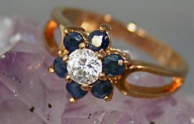 Genuine Sapphire Jewelry 3 by SoRoDesignCompany