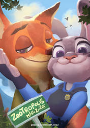 Zootopia by GDYang
