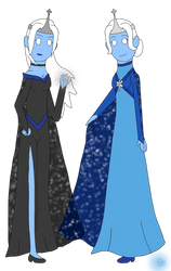 Iona and Aerona, Queens of Ice by blackblade94