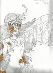 Wilhelmina's transformation by IllusiveWolfe