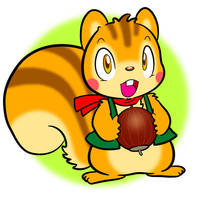 squirrel character by enorapi