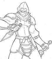 evil ninja by annyd
