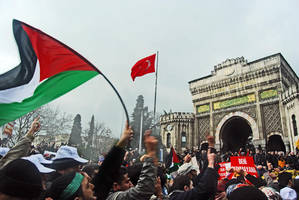 Turkey with Palestines by AhmetSelcuk