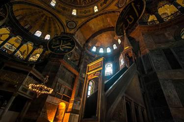 Ayasofya Camii by AhmetSelcuk