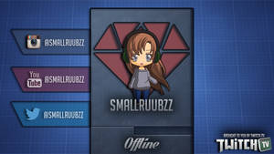New Offline image for Twitch by smallruubzz
