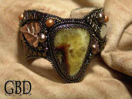 Bronze bracelet by gbdreams