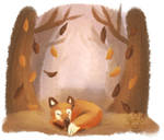 Autumn woods by tamaraR
