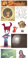 Doodles by tamaraR