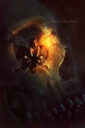 Skull Faerie by tamaraR
