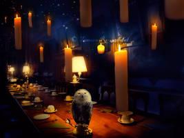 Gryffindor Banquet by tamaraR