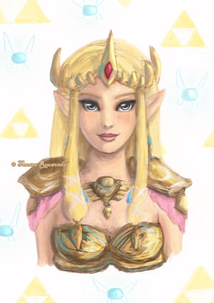 Princess Zelda by tamaraR