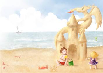 Sand Dragon by tamaraR