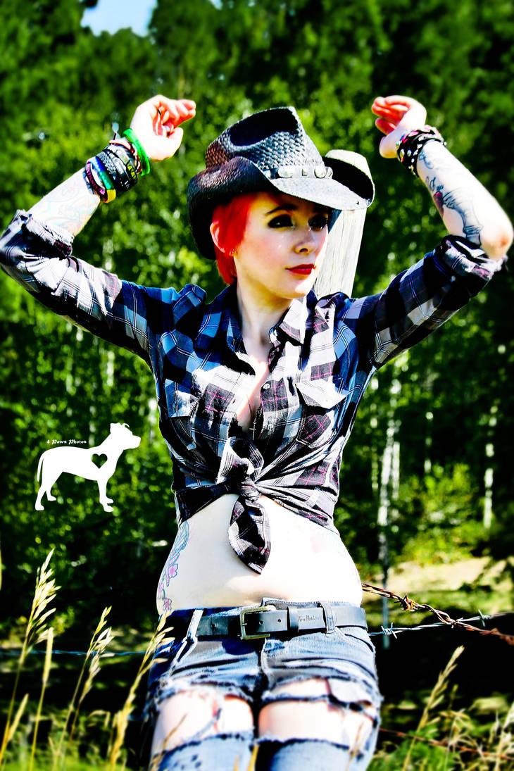 Cowgirl II by WalkingKiddMiles