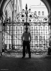 Closed Gates Of Tomorrow by vishstudio