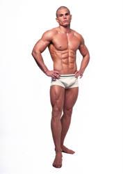 Stock male model by vishstudio