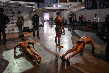Bodybuiling competitions 065 by vishstudio