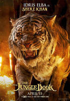 New Jungle Book Shere Khan Poster by Artlover67