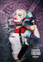 Suicide Squad Margot Robbie as Harley Quinn by Artlover67
