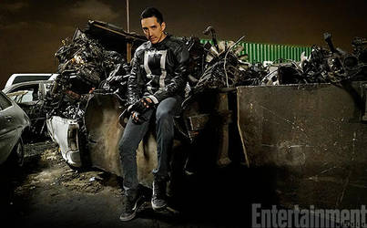 Gabriel Luna as Robbie Ryes/Ghost Rider in AOS S4 by Artlover67