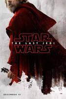 New Star Wars: The Last Jedi Luke Skywalker Poster by Artlover67