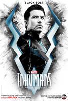 Marvel's Inhumans Black Bolt Poster  by Artlover67