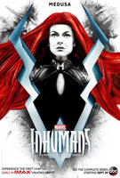 Marvel's Inhumans Medusa Poster by Artlover67