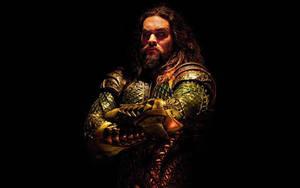 Jason Momoa as Aquaman Banner by Artlover67