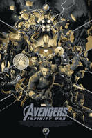 Avengers: Infinity War SDCC Varient Poster by Artlover67