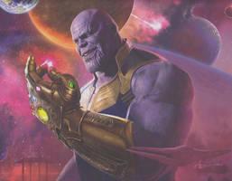Avengers: Infinity War Finger Snap Concept Art by Artlover67