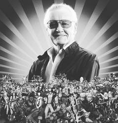 Stan Lee (1922-2018) by Artlover67