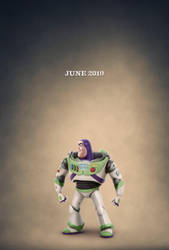 New Toy Story 4 Buzz Lightyear Teaser Poster by Artlover67