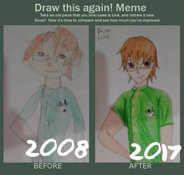 Draw this again- Derek Stiles! by ChoppyChua