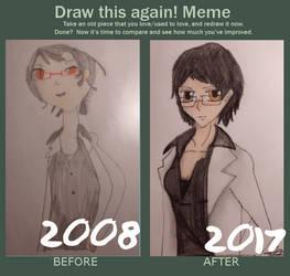 Draw this again- Cybil Myers! by ChoppyChua