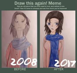 Draw this again- Linda Reid! by ChoppyChua