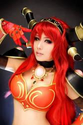 Warcraft cosplay by SpcatsTasha