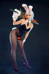 Battle Bunny by SpcatsTasha