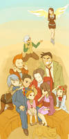 Ace Attorney by sapphiamay