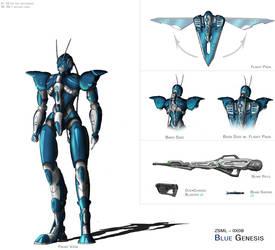Blue Genesis by bigt1987