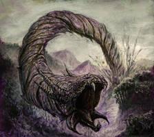 Terrahide Wurm by zakariah