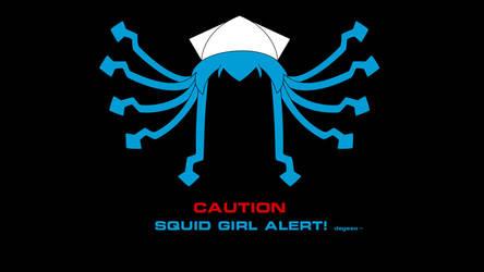 Warning - Ika Musume ahead by Eniacc