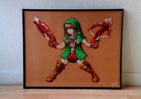 Linkle - Hyrule Warriors Legends by Cupile