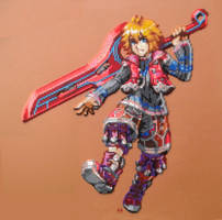 Shulk - Xenoblade Chronicles (Sold) by Cupile