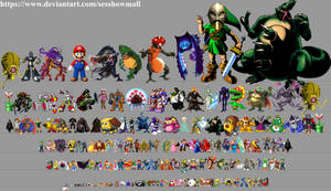 Nintendo Height Chart A by sesshowmall