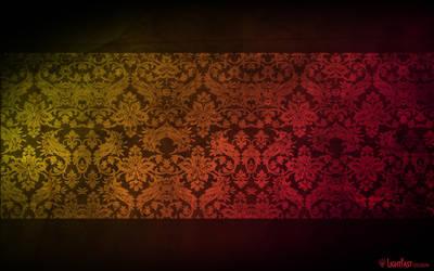 Stenciled Silk by lightfastdesign