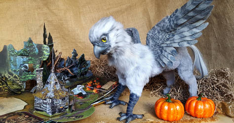 Buckbeak,Hippogriff from the world of Harry Potter by MelvonAndReine