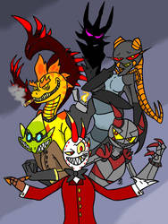 The Villains! by King-Edmarka