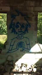 2D: Spraypainted by Meetthespy66