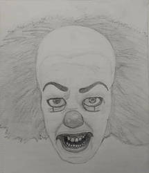 Original Pennywise (Tim Curry) by Meetthespy66