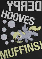 Derpy Hooves Typography Poster by Skeptic-Mousey