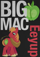 BigMacintosh Typography Poster by Skeptic-Mousey